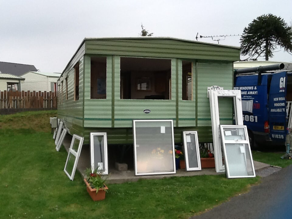 Caravan double glazing installations gallery for Double glazing uk